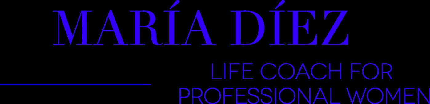 Logotipo Maria Diez Coach